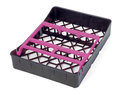 PractiPal Tray 9 Instrumentos, cierre rosa