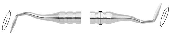 Cuchillo Orban O1-2 mango 8mm