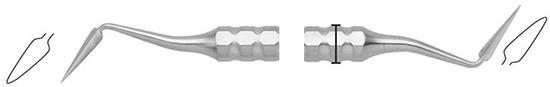 Cuchillo Kramer Nevins 11 mango 8mm