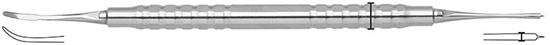 Instrumento para colocación de membranas