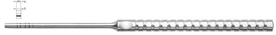 Osteotomo Iglhaut, recto fig. 3