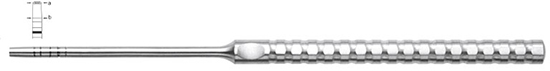 Osteotomo Iglhaut, recto fig. 4