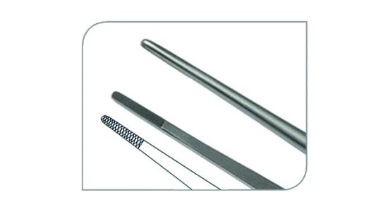 Micro pinza 1,3mm recta TC
