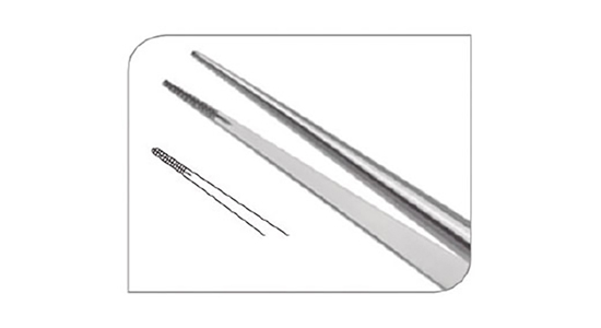 Micro-pinza 17.5cm Cooley 0.6mm
