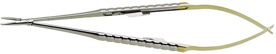 Micro-porta aguja Zucchelli TC 0.6mm 18cm
