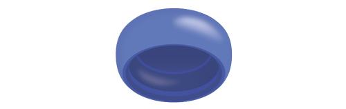 Locator R-Tx - Retención Azul (4 Pack)