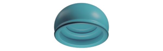 Locator R-Tx - Retención Azul Claro (4 Pack)
