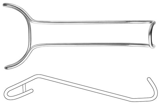 Separador labios Khoury 18cm, flexible