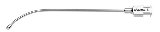 Cánula de irrigación con Luer-Lock, con oliva, 8cm