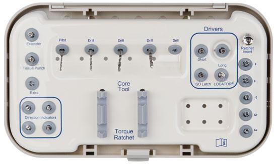 LODI Kit Standard 3,4 (sin llave ni Core Tool)