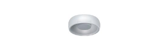 Locator: Boton de Nylon Blanco (4 Pack)