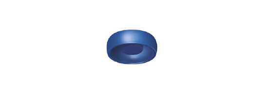 Locator: Boton de Nylon Azul (4 Pack)