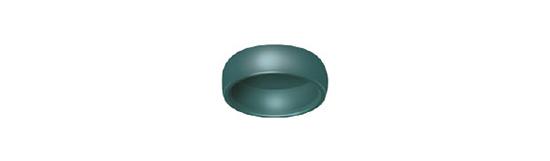 Locator: Boton de Nylon Verde Angulados (4 Pack)
