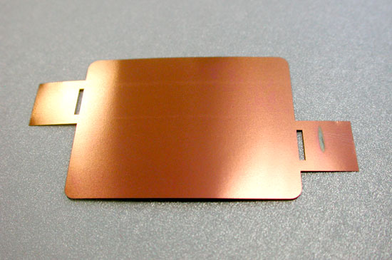 Membrana de titánio de 40 micras (40x30mm)