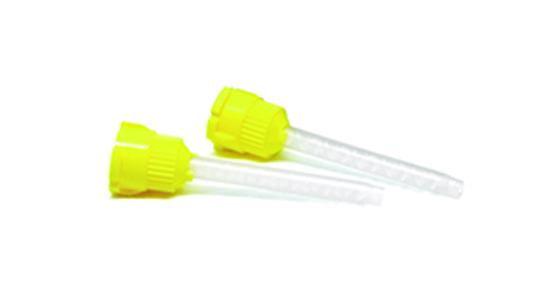 Cánulas de mezcla amarillas