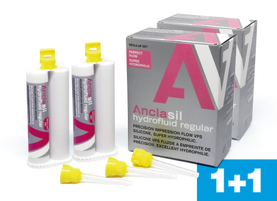 Anclasil Hydrofluid Regular 1+1